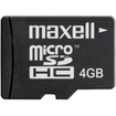 Maxell - 4 GB Flash Memory - 1 Card