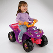 Power Wheels - Dora 10th Anniversary Lil Quad Battery Operated ATV Riding Toy