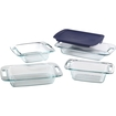 Pyrex - Easy Grab 5-Pc Bake Set - Clear