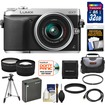 Panasonic - DMC-GX7 Micro Four Thirds Camera+14-42 II Lens+32GB+Battery+Case+Filter+Tripod+Tele/Wide Lenses