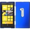 Insten - Rubberized Hard Case Cover For Nokia Lumia® 920 - Blue