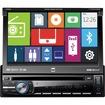 "Dual - Car DVD Player - 7"" Touchscreen LED-LCD - 72 W RMS - Single DIN"