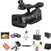 Canon - XF300 High Definition Professional Camcorder , 16GB CF Memory , 2 Extended Life 970L Batteries - Black