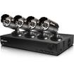 Swann - 4 Channel D1 Digital Video Recorder - Black