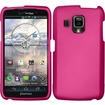 BasAcc - Rubberized Hard Case Cover For Pantech Perception R930L - Rose Pink