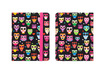 Griffin Technology - Black/ Pink Wise Eyes Owls Passport for iPad 2, 3, 4th Gen - Pink