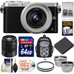 Panasonic - Bundle Lumix DMC-GM1 Micro Four Thirds Digital Camera & 12-32mm Lens