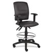 Lorell - Multi-Function Drafting Stool with Adjustable Arms