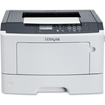 Lexmark - MS410 Laser Printer - Monochrome - 1200 x 1200 dpi Print - Plain Paper Print - Desktop - Black