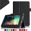 """Fintie - PU Leather Case Cover for 7"""" Android Tablet - Dragon Touch, Chromo,Zeepad, A13 Q88 - Black"""