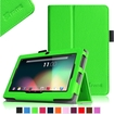 """Fintie - PU Leather Case Cover for 7"""" Android Tablet - Dragon Touch, Chromo,Zeepad, A13 Q88 - Green"""