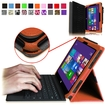 Fintie - Premium Leather Cover Case for Microsoft Surface Pro / Pro 2 10.6 Inch Tablet - Brown