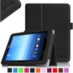 Fintie - Folio Leather Case Cover For E FUN Nextbook Premium 8HD SE NX008HD8G Tablet - Black