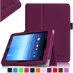 Fintie - Folio Leather Case Cover For E FUN Nextbook Premium 8HD SE NX008HD8G Tablet - Purple