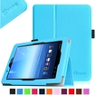 Fintie - Folio Leather Case Cover For E FUN Nextbook Premium 8HD SE NX008HD8G Tablet - Blue
