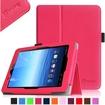 Fintie - Folio Leather Case Cover For E FUN Nextbook Premium 8HD SE NX008HD8G Tablet - Magenta