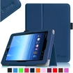 Fintie - Folio Leather Case Cover For E FUN Nextbook Premium 8HD SE NX008HD8G Tablet - Navy