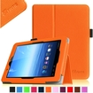 Fintie - Folio Leather Case Cover For E FUN Nextbook Premium 8HD SE NX008HD8G Tablet - Orange