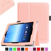 Fintie - Folio Leather Case Cover For E FUN Nextbook Premium 8HD SE NX008HD8G Tablet - Pink
