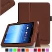 Fintie - Folio Leather Case Cover For E FUN Nextbook Premium 8HD SE NX008HD8G Tablet - Brown