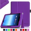 Fintie - Folio Leather Case Cover For E FUN Nextbook Premium 8HD SE NX008HD8G Tablet - Violet