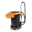 Rubbermaid - Compact Vacuum Cleaner - Black, Yellow