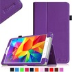 Fintie - Folio Case Slim Fit Leather Cover for Samsung Galaxy® Tab 4 8.0 inch Tablet - Violet