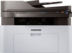 Samsung - Xpress M2070FW Wireless Black-and-White All-In-One Laser Printer - Black/Gray