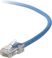Belkin - 14-Foot RJ45 CAT5e Snagless Molded Patch Cable - Blue