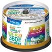Verbatim - Blu-ray Disc 50 pcs Spindle 50GB 4X BD-R DL Inkjet Printable