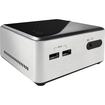 Intel - Desktop Computer Core i3 i3-4010U 1.70 GHz - Ultra Compact, - Silver