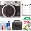 Fujifilm - Instax Mini 90 Neo Classic Instant Film Camera with Instant Film + Case + Battery + Cleaning Kit