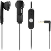 Cellet - 3.5mm Stereo Hands Free Headset For iPhone®, HTC Hero, Samsung Seek, Replenish, LG Optimus - Black