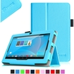 """Fintie - Folio Leather Case Cover for Chromo 7"""" Android Tablet (2013 Model) - Blue"""