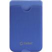 Cellet - EZStick Universal ID/Credit Card Holder for Smartphones - Blue - Blue