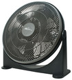 Royal Sovereign - 20 High-Velocity Air Circulator - Black