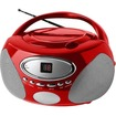 RIPTUNES - Radio/CD Player BoomBox - Red - Red