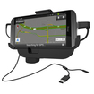 RND Power Solutions - Vehicle Charging Dock for the HTC One (M8). Compatible without or with slim cases. - Black