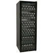EdgeStar - 173 Bottle Glass Door Wine Cabinet - Black