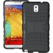 JKase - DIABLO Tough Rugged Dual Layer Case with Kick Stand for Samsung Galaxy® Note 3 III - Black - Black
