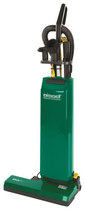 BigGreen - BG11 Bagged Commercial Upright Vacuum Cleaner - Green