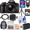 Fujifilm - FinePix S1 Weather Resistant Wi-Fi Digital Camera with 32GB Card+Backpack+Flash+Battery+Tripod+Kit - Black