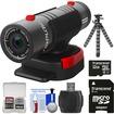 Replay XD - 1080 Mini Digital HD Video Camera Camcorder with 32GB Card+Flex Tripod+Accessory Kit - Black