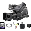 Panasonic - AG-HMC80 3MOS AVCCAM HD Shoulder-Mount Camcorder with 16GB Accessory Kit - Black