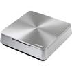 Asus - VivoPC Desktop Computer - Intel Celeron 1007U 1.50 GHz - Mini PC - Silver