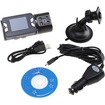 Image - HD 720P Dual Lens Dashboard Car Vehicle Camera Video Recorder DVR CAM - Black