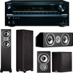 Onkyo - 7.2-Channel Network A/V Receiver Plus A Polk Audio TSi Home Theater Speaker Package! - Black