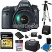 Canon - Bundle EOS 6D Full Frame 20.2 MP SLR Camera w/ 24-105mm USM f/4.0L IS AF Lens