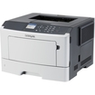 Lexmark - MS410 Laser Printer - Monochrome - 1200 x 1200 dpi Print - Plain Paper Print - Desktop - White