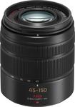 Panasonic - Lumix 45 mm - 150 mm f/4 - 5.6 Zoom Lens for Micro Four Thirds - Black - Black